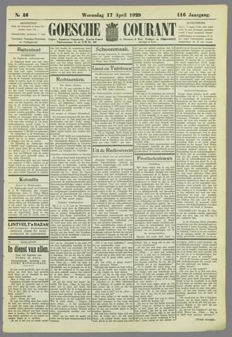 Goessche Courant 1929-04-17