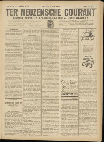 Ter Neuzensche Courant. Algemeen Nieuws- en Advertentieblad voor Zeeuwsch-Vlaanderen / Neuzensche Courant ... (idem) / (Algemeen) nieuws en advertentieblad voor Zeeuwsch-Vlaanderen 1936-06-05