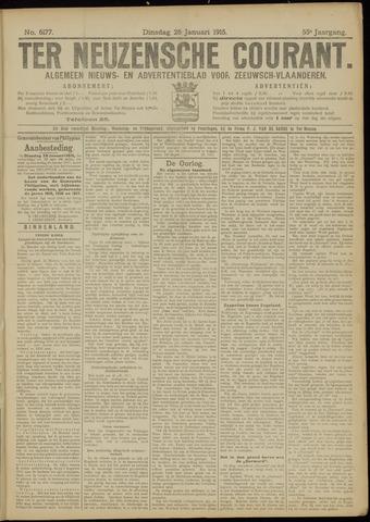 Ter Neuzensche Courant. Algemeen Nieuws- en Advertentieblad voor Zeeuwsch-Vlaanderen / Neuzensche Courant ... (idem) / (Algemeen) nieuws en advertentieblad voor Zeeuwsch-Vlaanderen 1915-01-26