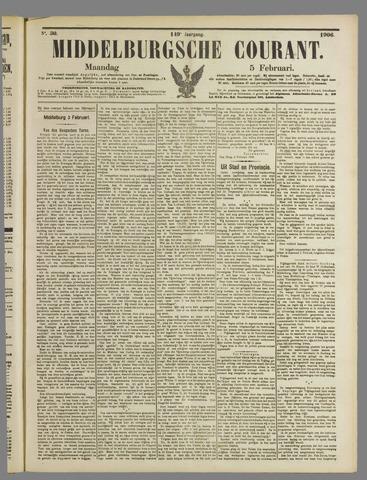 Middelburgsche Courant 1906-02-05