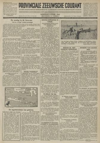 Provinciale Zeeuwse Courant 1942-02-09