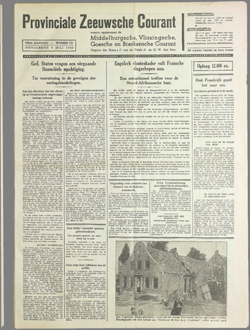 Provinciale Zeeuwse Courant 1940-07-04