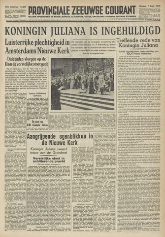 Provinciale Zeeuwse Courant 1948-09-07