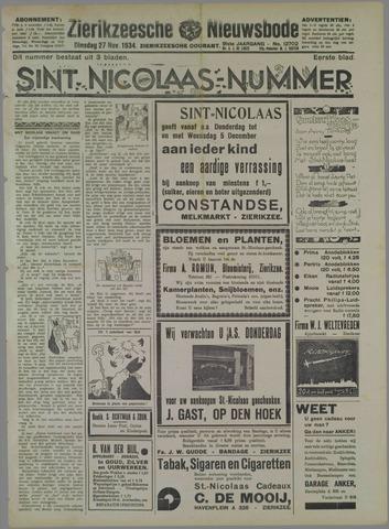 Zierikzeesche Nieuwsbode 1934-11-27