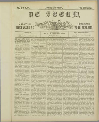 De Zeeuw. Christelijk-historisch nieuwsblad voor Zeeland 1901-03-26