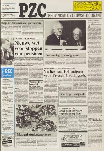 Provinciale Zeeuwse Courant 1986-11-28