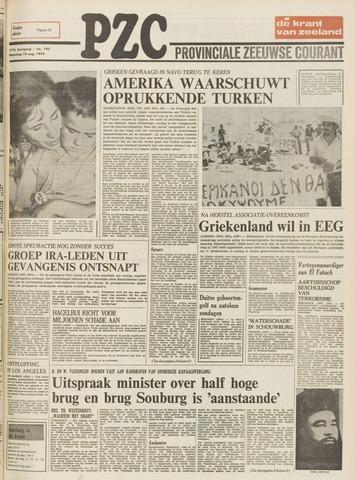 Provinciale Zeeuwse Courant 1974-08-19