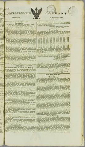 Middelburgsche Courant 1837-11-30