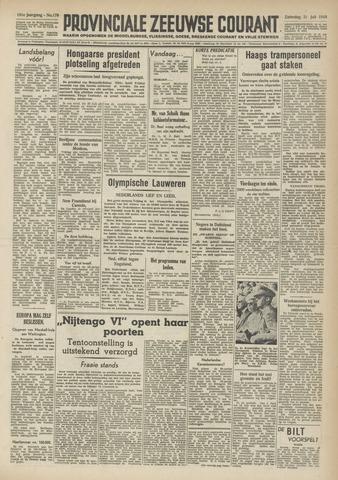 Provinciale Zeeuwse Courant 1948-07-31