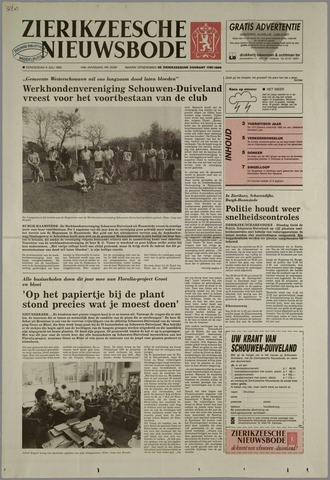 Zierikzeesche Nieuwsbode 1993-07-08