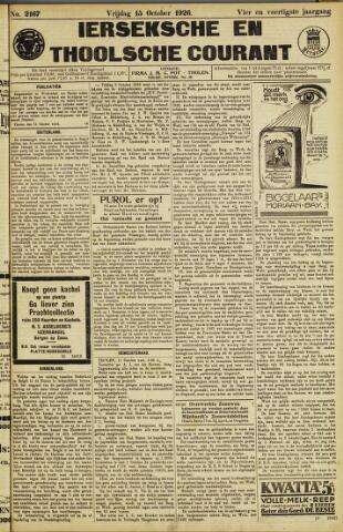 Ierseksche en Thoolsche Courant 1926-10-15