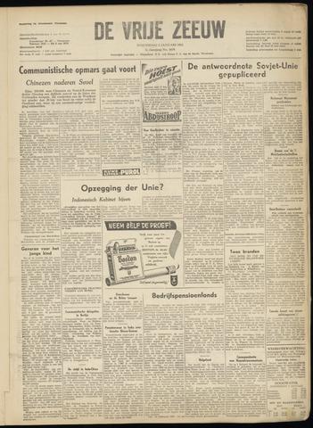 de Vrije Zeeuw 1951-01-03