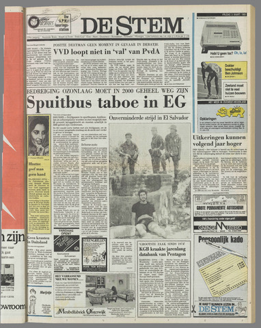 de Stem 1989-03-03