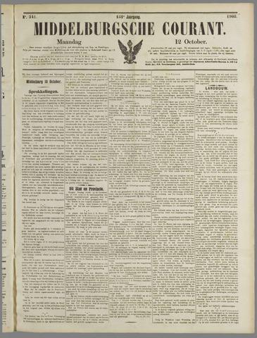Middelburgsche Courant 1908-10-12