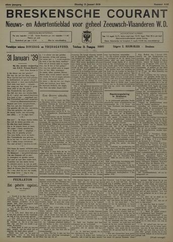 Breskensche Courant 1939-01-31