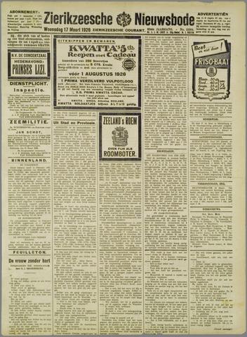 Zierikzeesche Nieuwsbode 1926-03-17