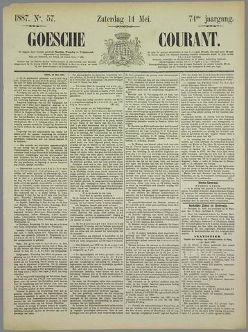 Goessche Courant 1887-05-14