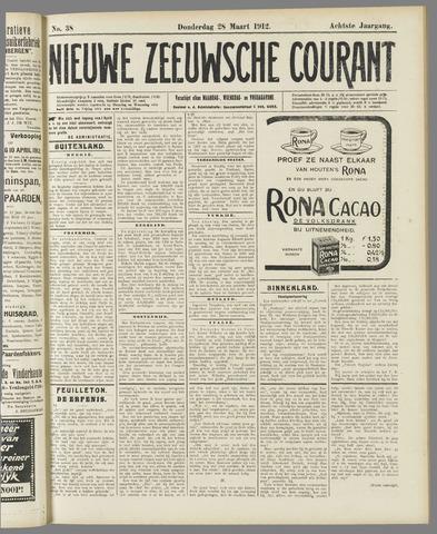 Nieuwe Zeeuwsche Courant 1912-03-28