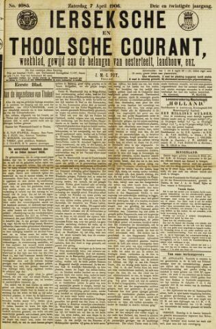 Ierseksche en Thoolsche Courant 1906-04-07