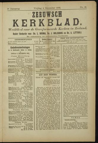 Zeeuwsche kerkbode, weekblad gewijd aan de belangen der gereformeerde kerken/ Zeeuwsch kerkblad 1903-12-04