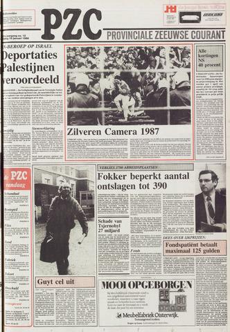 Provinciale Zeeuwse Courant 1988-01-15