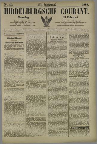 Middelburgsche Courant 1888-02-27