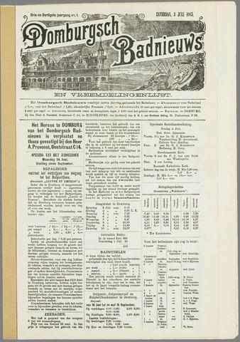 Domburgsch Badnieuws 1915