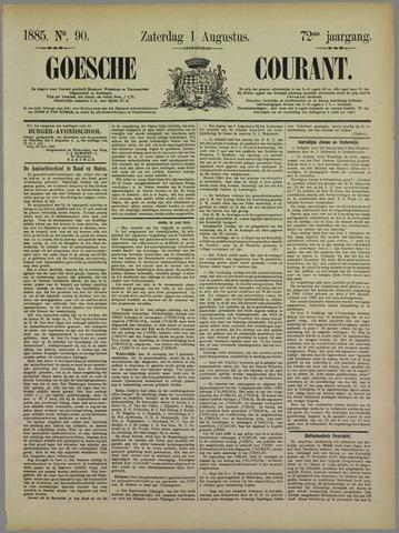 Goessche Courant 1885-08-01