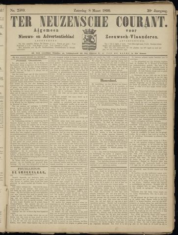 Ter Neuzensche Courant. Algemeen Nieuws- en Advertentieblad voor Zeeuwsch-Vlaanderen / Neuzensche Courant ... (idem) / (Algemeen) nieuws en advertentieblad voor Zeeuwsch-Vlaanderen 1890-03-08