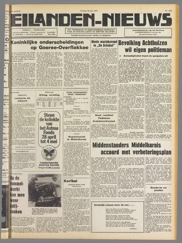 Eilanden-nieuws. Christelijk streekblad op gereformeerde grondslag 1975-04-29