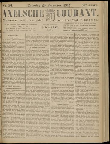 Axelsche Courant 1917-09-29