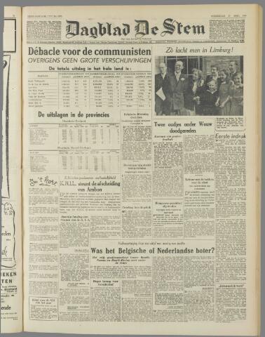 de Stem 1950-04-27