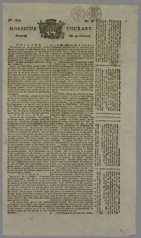 Goessche Courant 1822-02-25