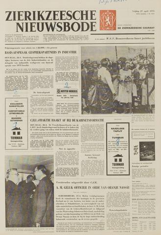 Zierikzeesche Nieuwsbode 1973-04-27