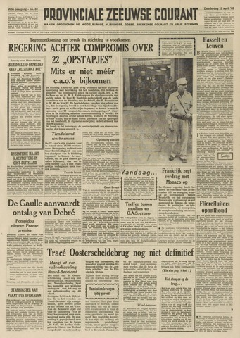 Provinciale Zeeuwse Courant 1962-04-12