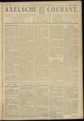 Axelsche Courant 1936-06-09