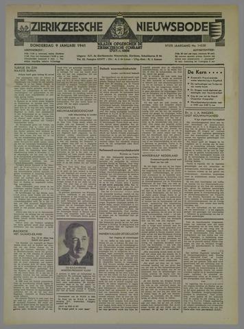 Zierikzeesche Nieuwsbode 1941-01-09