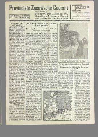 Provinciale Zeeuwse Courant 1940-08-19
