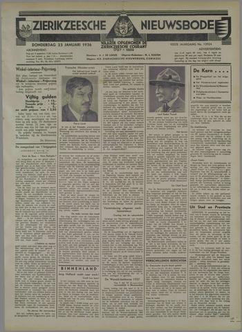 Zierikzeesche Nieuwsbode 1936-01-23