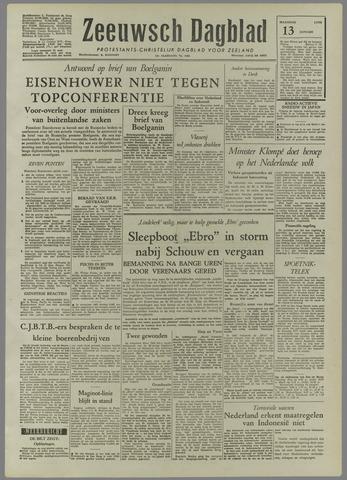 Zeeuwsch Dagblad 1958-01-13