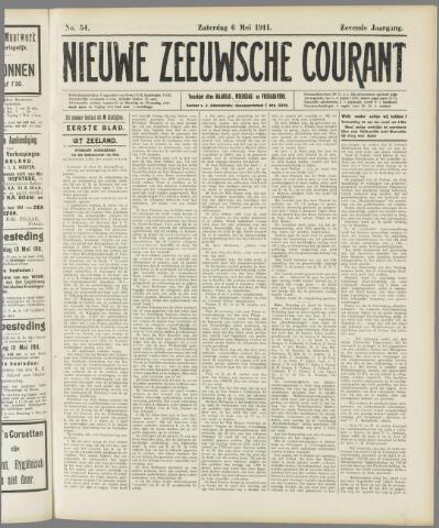 Nieuwe Zeeuwsche Courant 1911-05-06