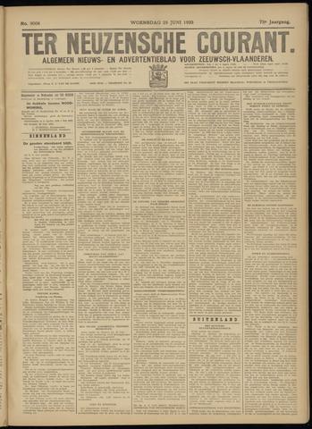 Ter Neuzensche Courant. Algemeen Nieuws- en Advertentieblad voor Zeeuwsch-Vlaanderen / Neuzensche Courant ... (idem) / (Algemeen) nieuws en advertentieblad voor Zeeuwsch-Vlaanderen 1933-06-28