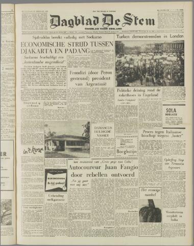 de Stem 1958-02-25