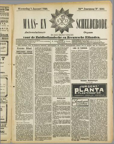 Maas- en Scheldebode 1920