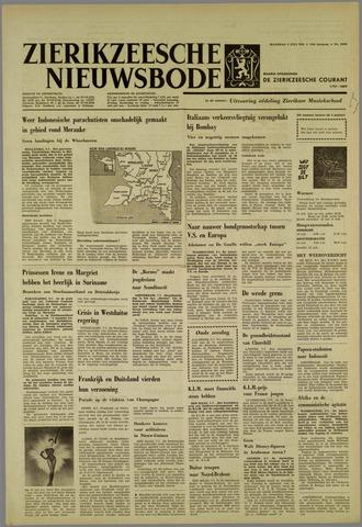 Zierikzeesche Nieuwsbode 1962-07-09