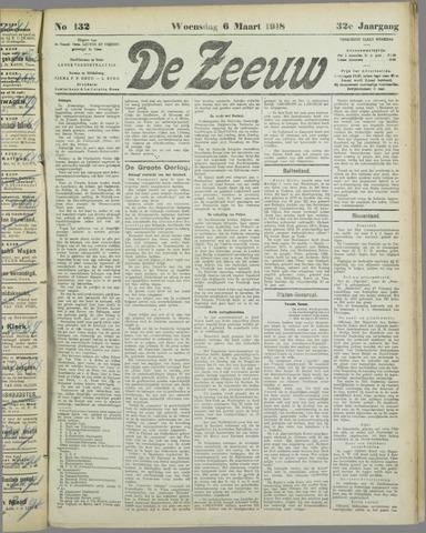 De Zeeuw. Christelijk-historisch nieuwsblad voor Zeeland 1918-03-06