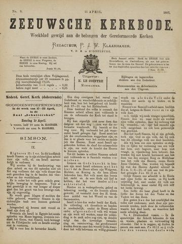 Zeeuwsche kerkbode, weekblad gewijd aan de belangen der gereformeerde kerken/ Zeeuwsch kerkblad 1887-04-15