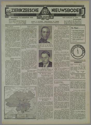 Zierikzeesche Nieuwsbode 1937-08-16