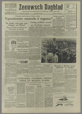 Zeeuwsch Dagblad 1958-07-25