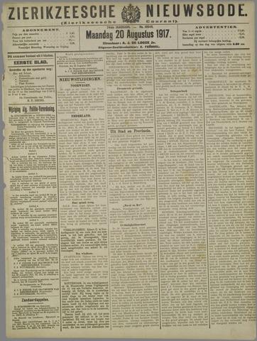 Zierikzeesche Nieuwsbode 1917-08-20
